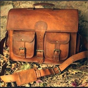 35% Off men's briefcase with small imperfection